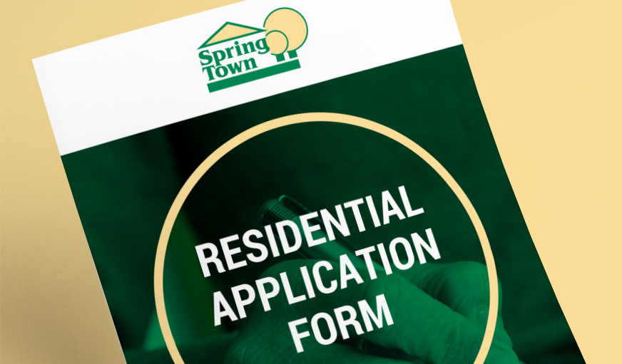 Residential Property Application Form